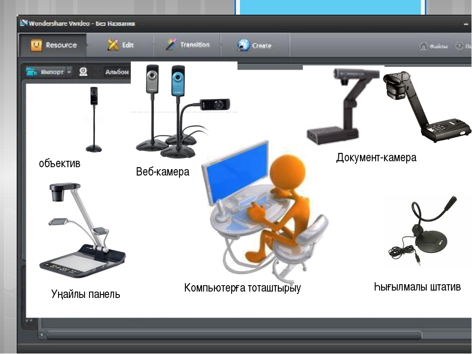 Веб-камера Документ-камера Һығылмалы штатив объектив Уңайлы панель Компьютер...