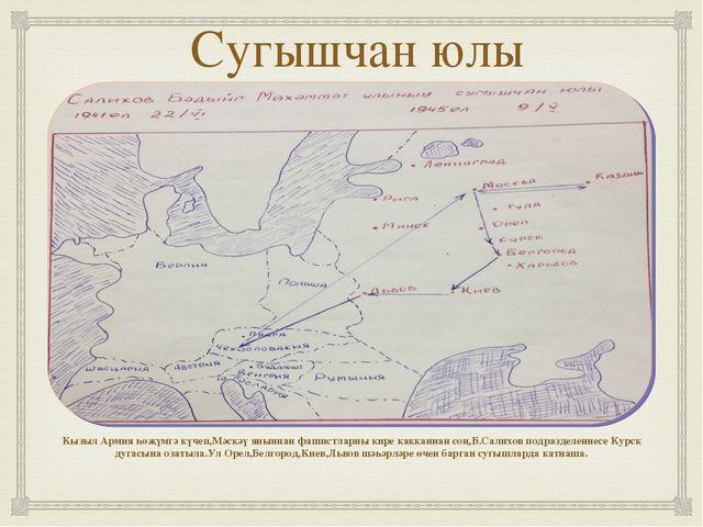 Сугышчан юлы Кызыл Армия һөҗүмгә күчеп,Мәскәү яныннан фашистларны кире каккан...