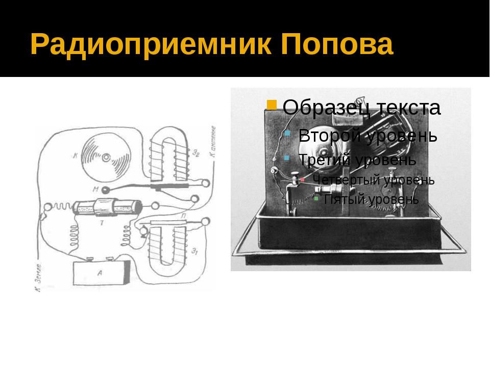 Радиоприемник Попова