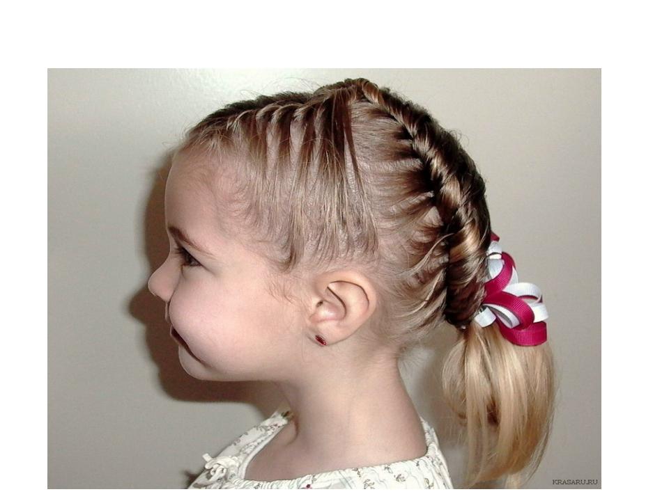Причёски на день рождения 4 года