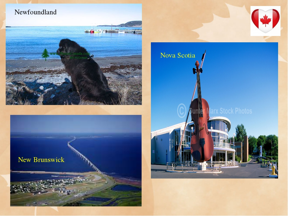 Newfoundland New Brunswick Nova Scotia Nova Scotia