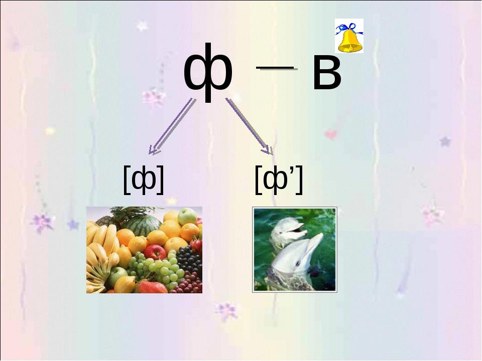 ф [ф] [ф']