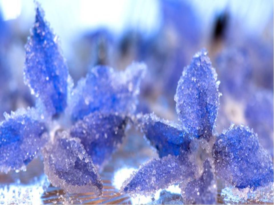 Знаете ли вы, что кристаллы воспроизводят сами себя и таким образом растут?...
