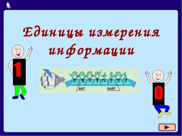 Единицы измерения информации Л.Л. Босова, УМК по информатике для 5-7 классов...