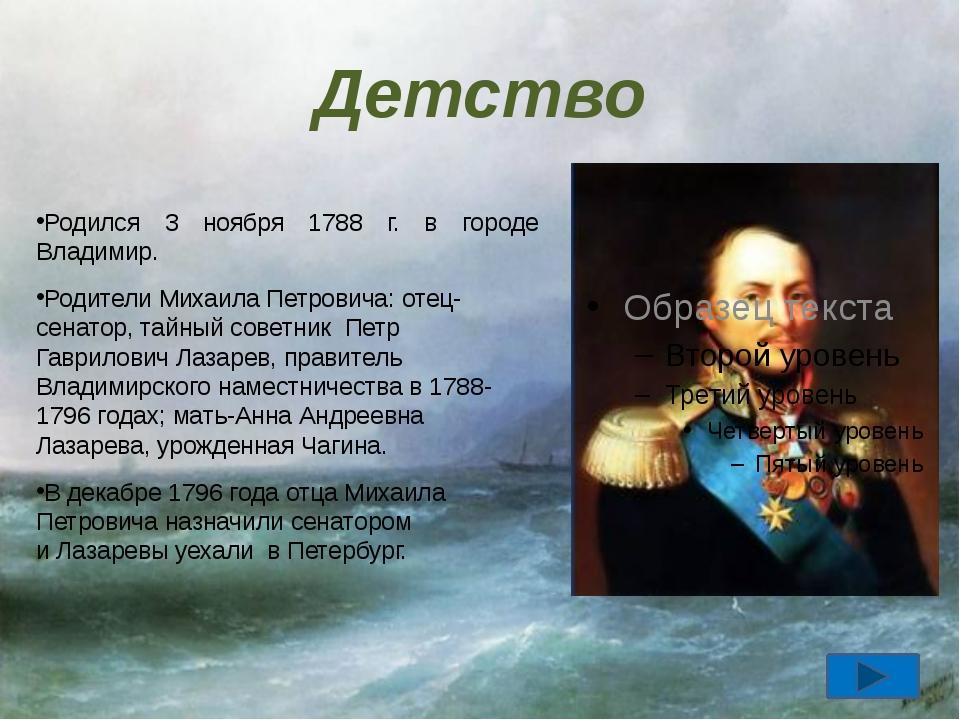 Награды Главная Орден Святого Владимира I степени Орден Святого Александра Не...