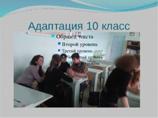 Адаптация 10 класс