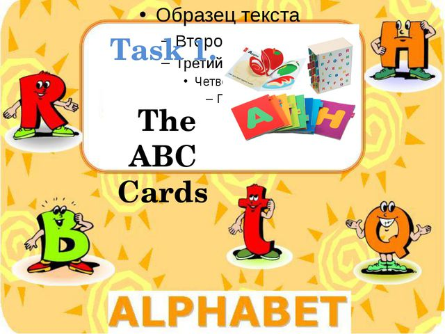 Task 1. The ABC Cards