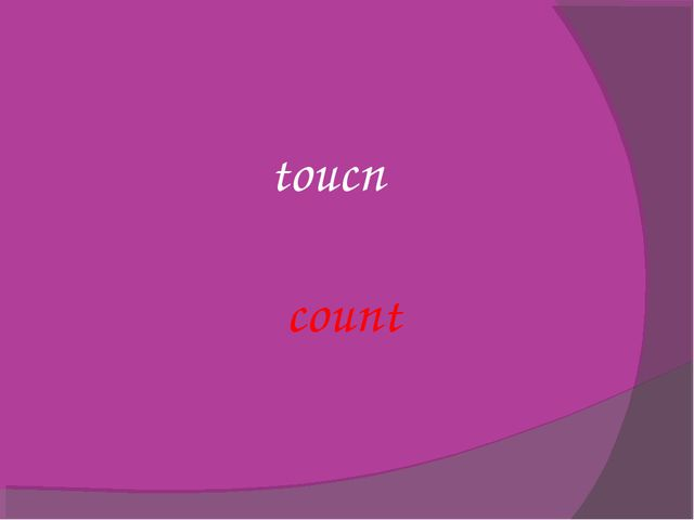 toucn count