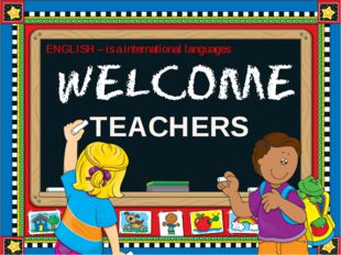 TEACHERS ENGLISH – is a international languages