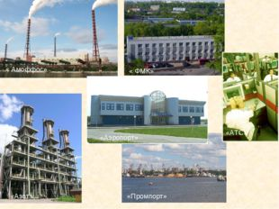« Амоффос» «Аэропорт» «АТС» «Промпорт» «Азот» « ФМК»