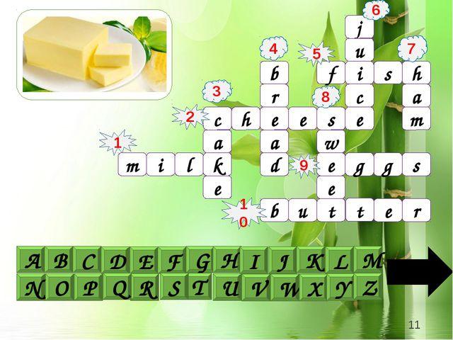 j u i c e a f s h m c h e e s b a r d e k a e e w t b u r e s g g 1 4 6 5 9...