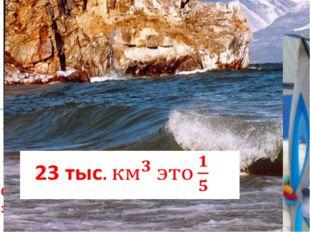 Самое глубокое озеро в мире - Байкал 1940метров Его длина 620 километров, шир