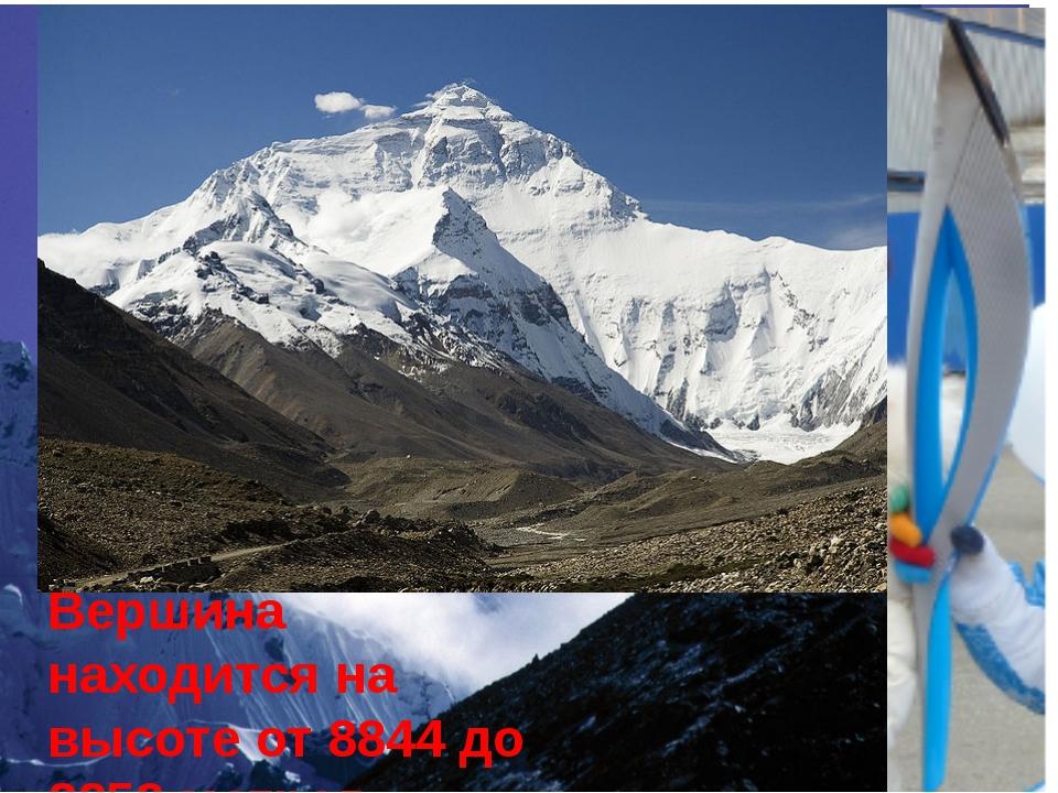 На данный момент самой высокой горой в мире является Эверест (Джомолунгма с т...