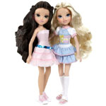 Сравниваем игрушки - куклы