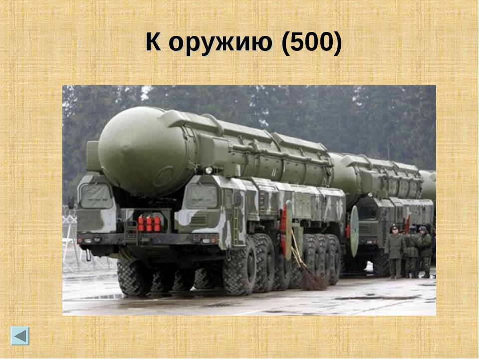 К оружию (500)