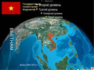 Государство на полуострове Индокитай. ВЬЕТНАМ Война 1964-1973 гг.