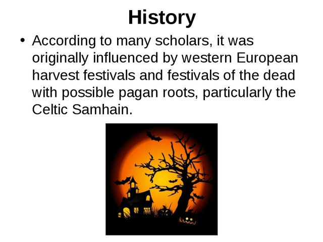 History According to many scholars, it was originally influenced by western E...