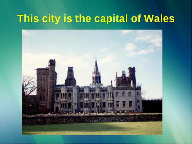 This city is the capital of Wales