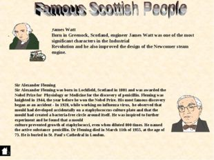 . Sir Alexander Fleming Sir Alexander Fleming was born in Lochfield, Scotland