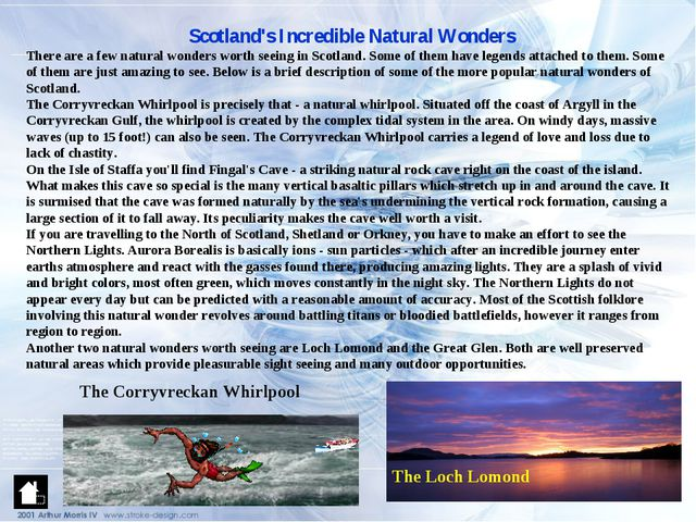 Scotland's Incredible Natural Wonders There are a few natural wonders worth s...