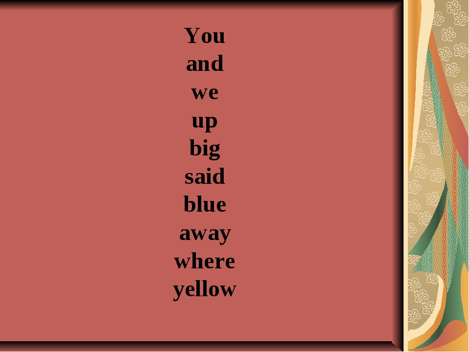 You and we up big said blue away where yellow