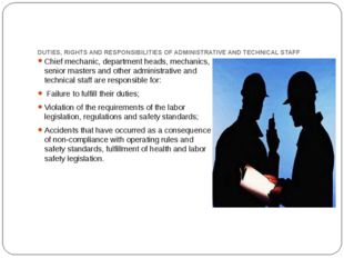 DUTIES, RIGHTS AND RESPONSIBILITIES OF ADMINISTRATIVE AND TECHNICAL STAFF Chi