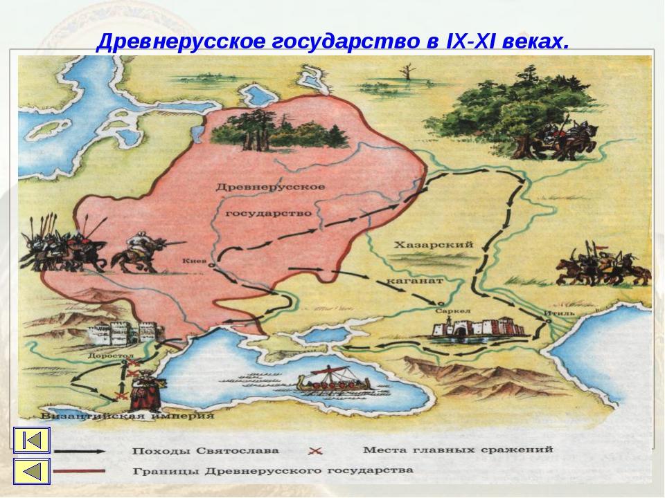 Древнерусское государство в IX-XI веках.