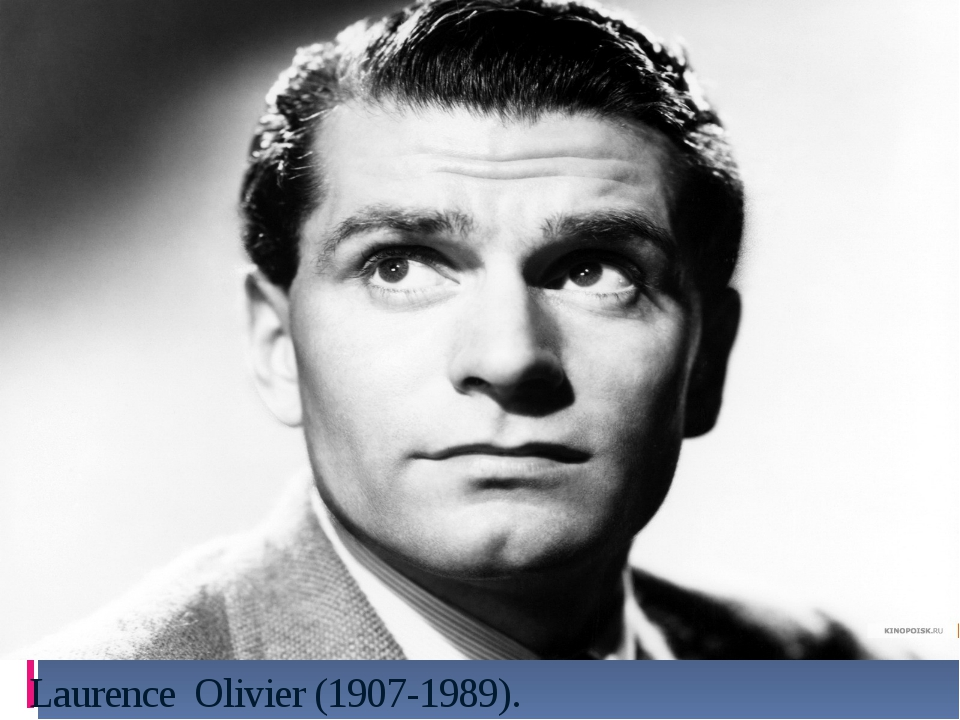 Laurence Olivier (1907-1989).