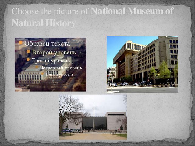 Choose the picture of National Museum of Natural History