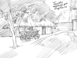 D:\2015-16 ОКУ ЖЫЛЫ\Сабак жоспарлары\Корнекилик\Как-нарисовать-деревню-карандашом-поэтапно-4-470x352.jpg
