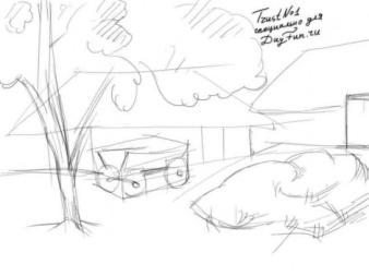 D:\2015-16 ОКУ ЖЫЛЫ\Сабак жоспарлары\Корнекилик\Как-нарисовать-деревню-карандашом-поэтапно-2-470x352.jpg