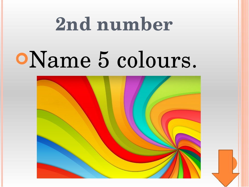 8th number Name 5 things that people wear.