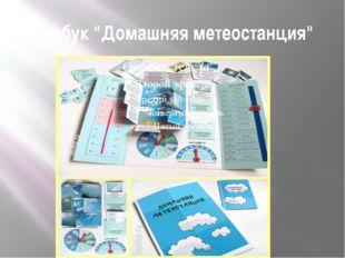 "Лэпбук ""Домашняя метеостанция"""