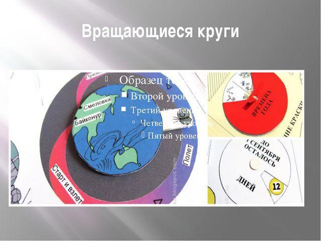 Вращающиеся круги
