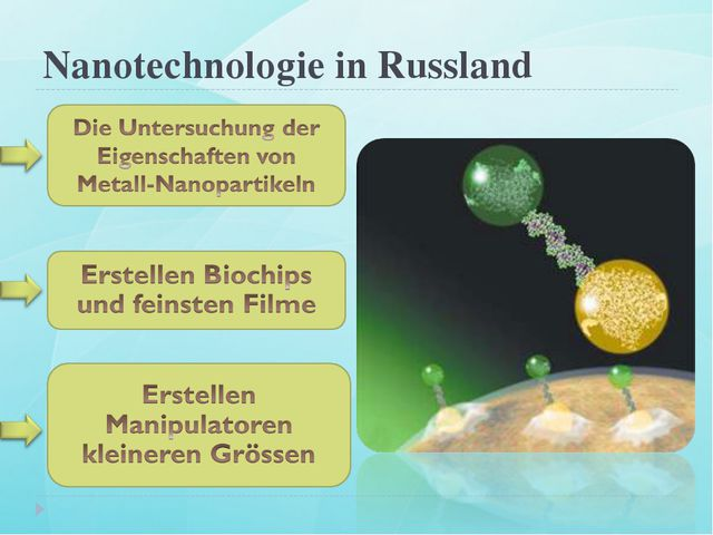 Nanotechnologie in Russland