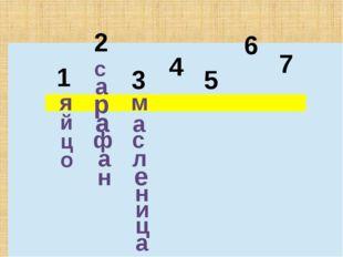 1 2 3 4 5 6 7 я й ц о с а р а ф а н м а с л е н и ц а