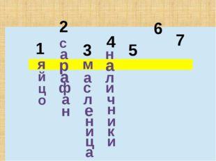 1 2 3 4 5 6 7 я й ц о с а р а ф а н м а с л е н и ц а н а л и ч н и к и