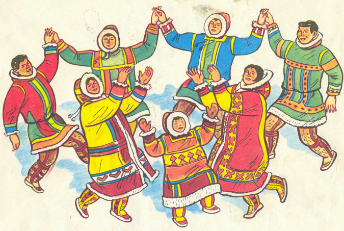 Праздник народов севера открытки, февраля картинки для