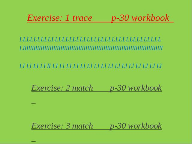 Hometask: Exercise: 4 trace 5draw p-31 Conclusion: good bye peoples!