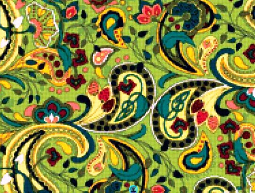 Орнамент из ткани своими руками