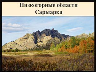 Низкогорные области Сарыарка Название Высота, метры Фундамент, складчатость Г