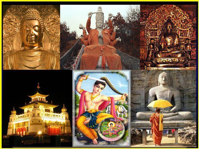 БУДДИЗМ Буддизм – самая древняя мировая религия. Он возник в VI в. до н.э. в...