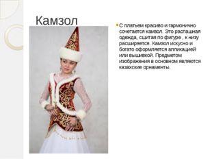 Камзол С платьем красиво и гармонично сочетается камзол. Это распашная одежда
