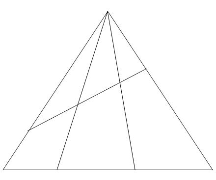 Ответы@Mail.Ru: сколько четырехугольников в треугольнике