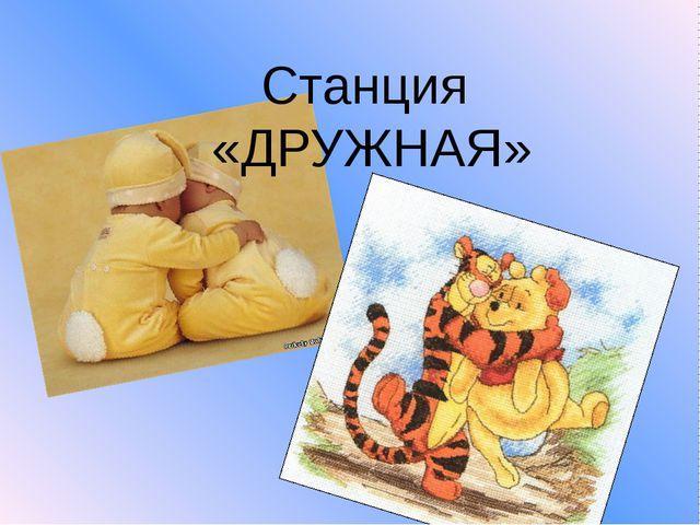Станция «ДРУЖНАЯ»