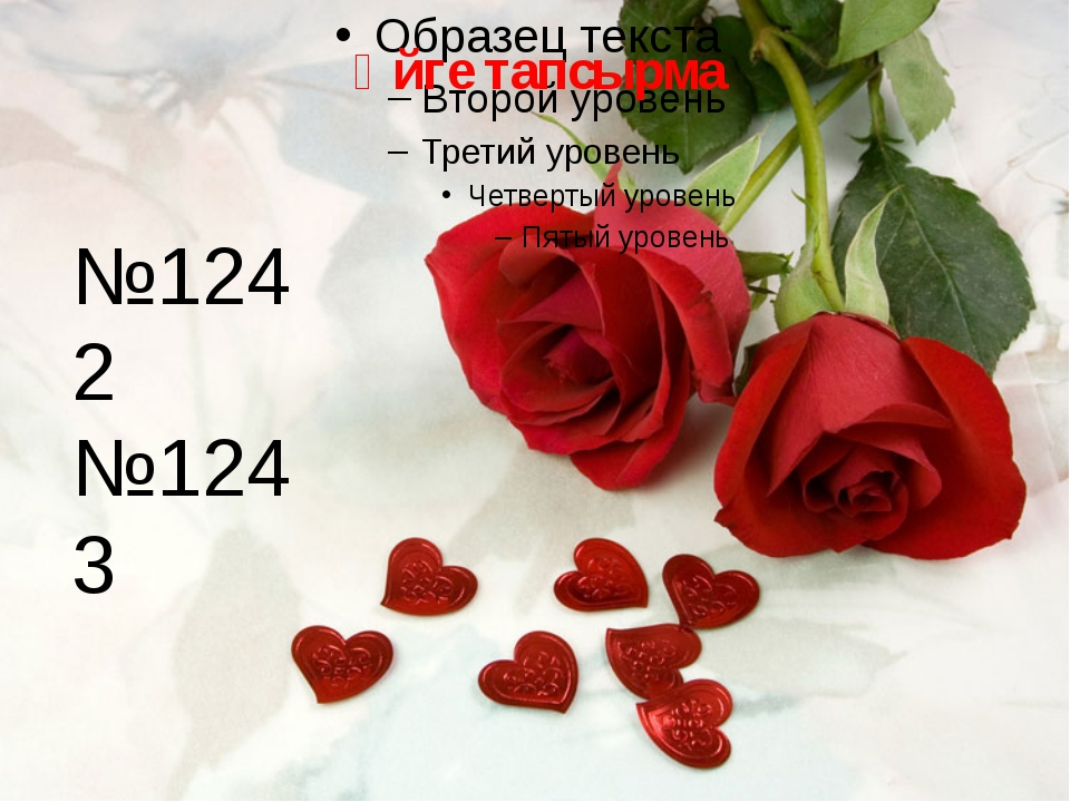 Үйге тапсырма №1242 №1243
