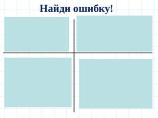 Найди ошибку! 1. Х ≥72. y < 2,5 Ответ: (-∞;7)Ответ: (-∞;2,5) 3. m ≥ 1