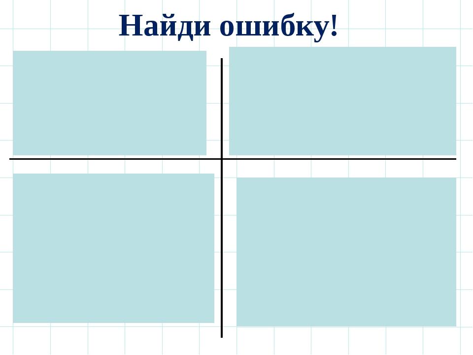 Найди ошибку! 1. Х ≥72. y < 2,5 Ответ: (-∞;7)Ответ: (-∞;2,5) 3. m ≥ 1...