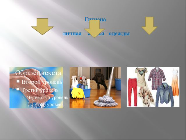 Гигиена личная жилья одежды