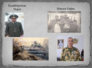 Кудайбергенов Марат Ниязов Рафис